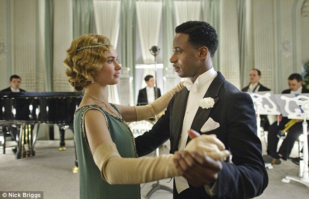 Downton Abbey is popular in America because 'there are no black ...