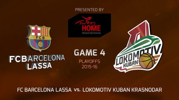 Highlights: FC Barcelona Lassa-Lokomotiv Kuban Krasnodar, Game-4