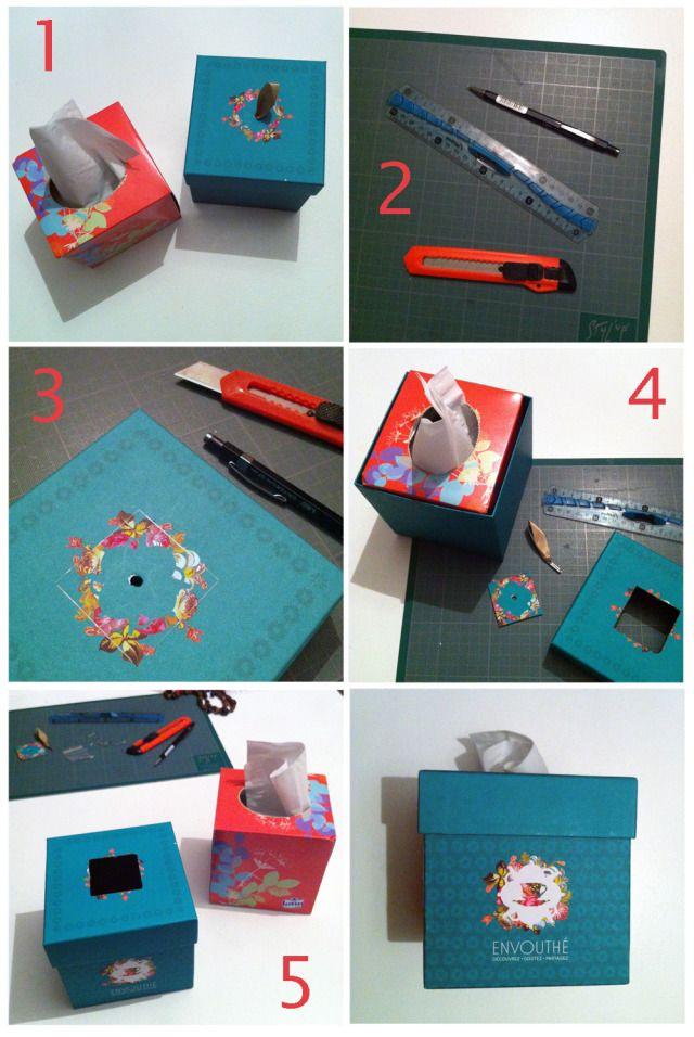 Do It Yourself boite envouthé sur le blog : www.teaetconfettis.com