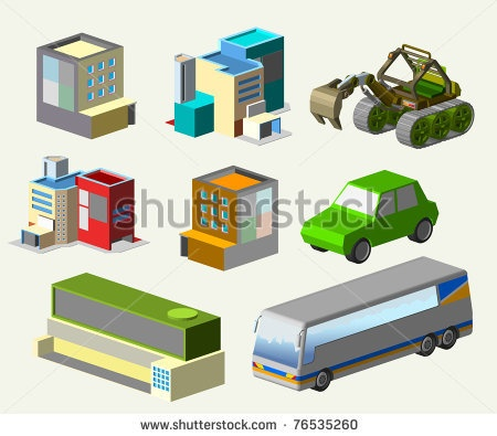 custom isometric vector. custom your world