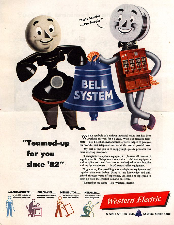 Vintage Electronics & Gadgets Advertisements (Western Electric, 1946)