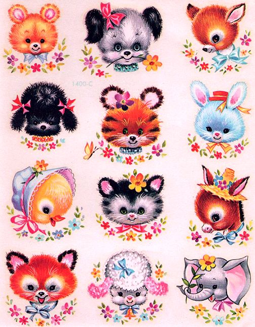 I had these exact transfers as a child. I think we put them on my cot-bed