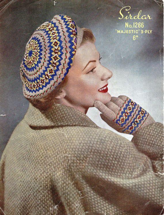 126 best vintage knitting pattern images on Pinterest | Unisex, V ...