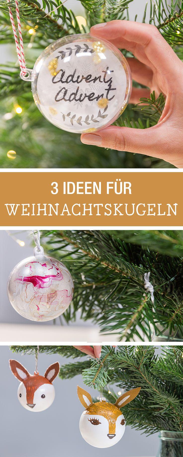 25 einzigartige christbaumkugeln ideen auf pinterest - Christbaumkugeln selber machen ...