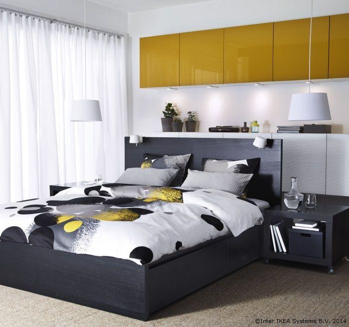 Lenjeria se poate asorta cu toate culorile din dormitor www.IKEA.ro/lenjerie_BOLLTISTEL