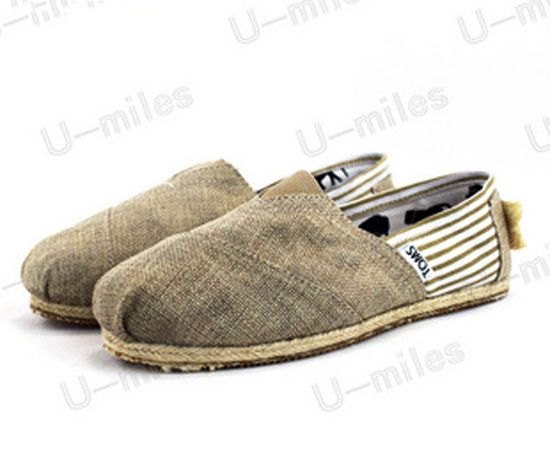 Men's Toms Striped Shoes in Grey : Men's And Women's Toms Shoes, Discount  Online Sale