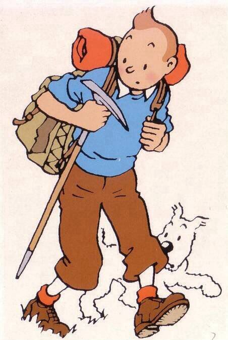 Tintin et Milou par Herge