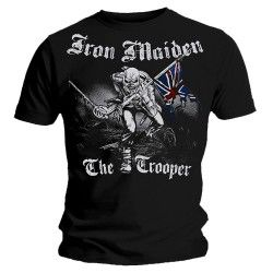 Tricou Iron Maiden: Sketched Trooper