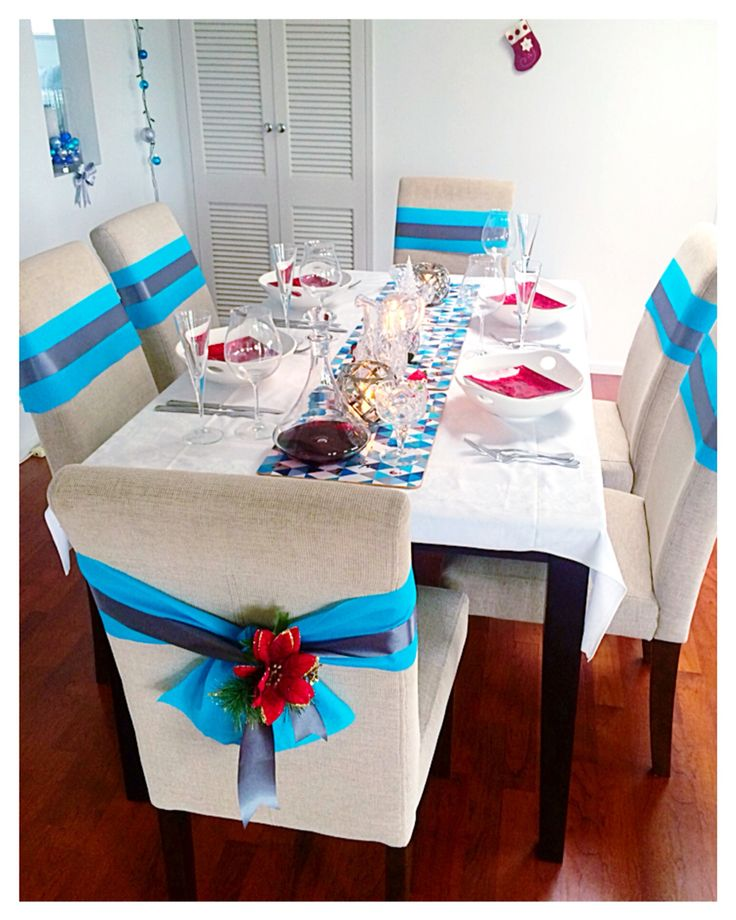 Modern elegant fun Christmas decorations easy and effective