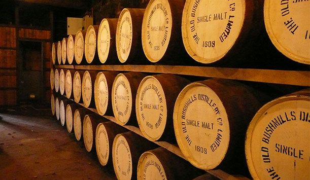 Explore Ireland's ancient whiskey tradition and visit the oldest distillery in the world