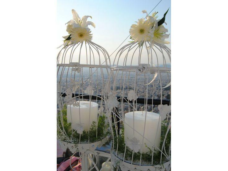 Ρομαντικά μεταλλικά κλουβιά