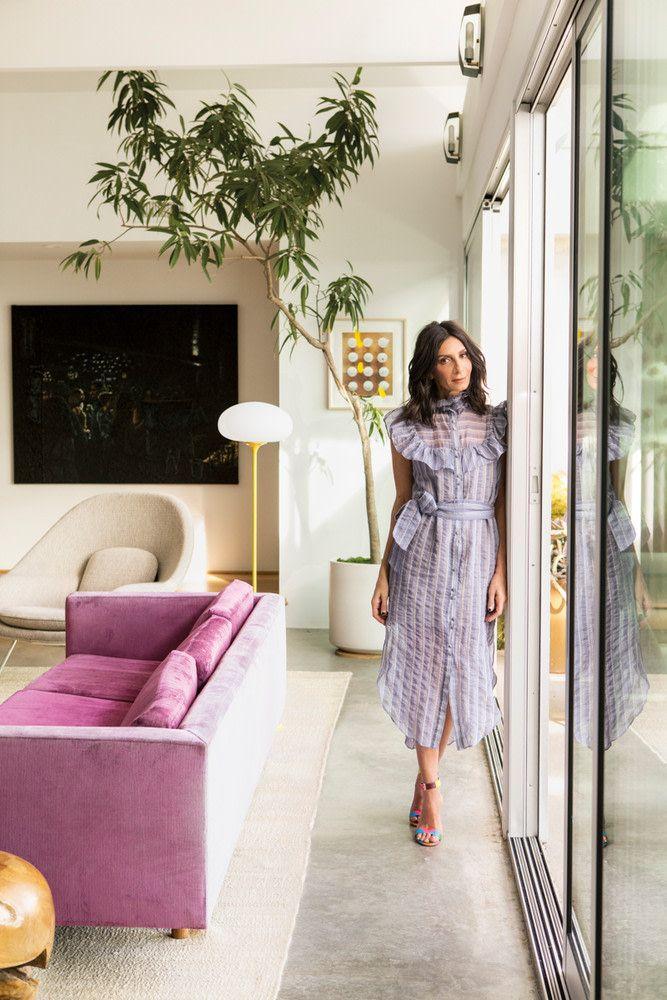 2 Broke Girls Creator Michelle Nader La Home Tour House Tours