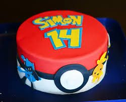 Resultado de imagen para cake pokemon