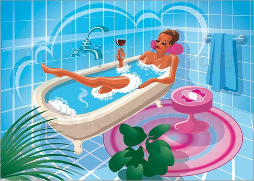 Imagine if you were preparing to come to McLaren Vale over the weekend and how wonderful it would be to soak in a tub with a good book and a glass of Squid Ink...   Might even do that tonight!