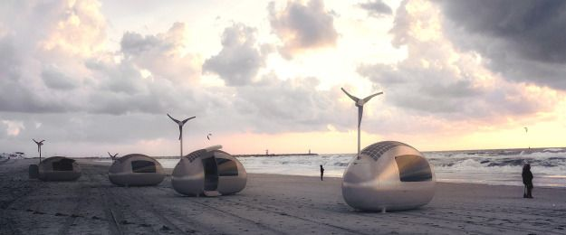 Ecocapsule Portable Camping Eco-Friendly Home