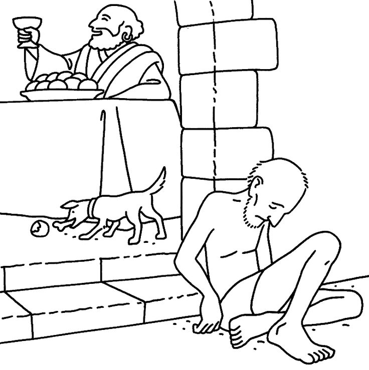 bible luke coloring pages - photo#15