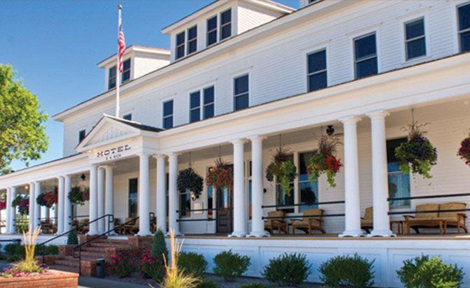 The Sacajawea Hotel in Three Forks, Montana!  Best Little Hotel in the West!