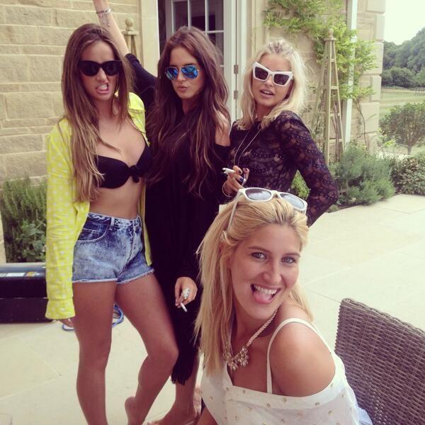 Fran, Binky, Phoebe, and Cheska