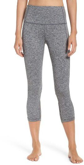 Obsessed with these Women's Zella High Waist Camila Crop Leggings! They have a really cool criss-cross cutout on the back and come in multiple colors. Definitely on my wish list!