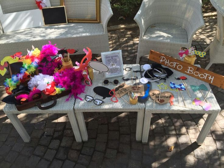 Travel wedding - photobooth