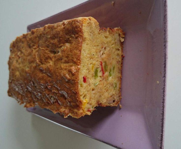 Cake thon poivron tomate