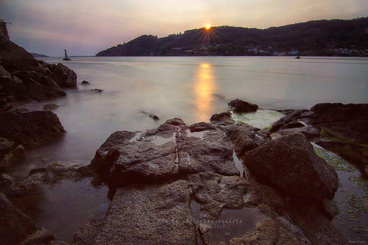 Tranquilidad (Mugardos - Galicia)  Visita Marcos Vazquez Fotografia en Facebook.  © 2013 Marcos Vázquez  Todos los derechos reservados  #paisaje #landspace #fotografía #photography #Mugardos #marcosvazquezfotografia #Galicia #España #Spain #Sunset #Atardecer #Sea #Mar