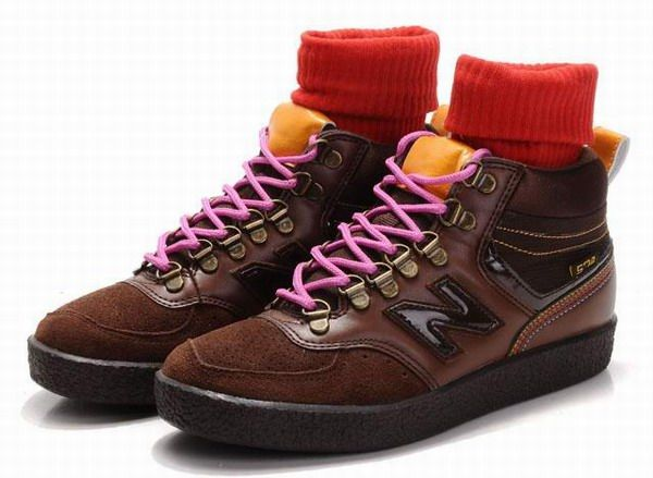 Joes New Balance 574 WRC574BM Mid Classic Brown Womens Shoes