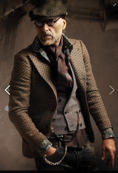 steampunk fashion male - Google Search