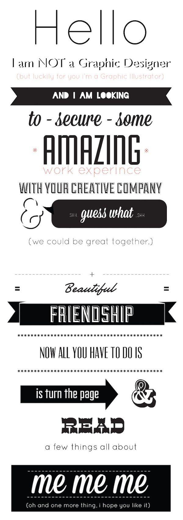 40 Best Resume & Letterhead Design Images On Pinterest