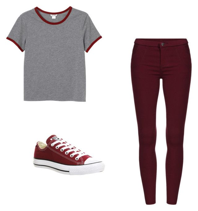 """"" by super19fam on Polyvore featuring beauty, Monki and Converse"