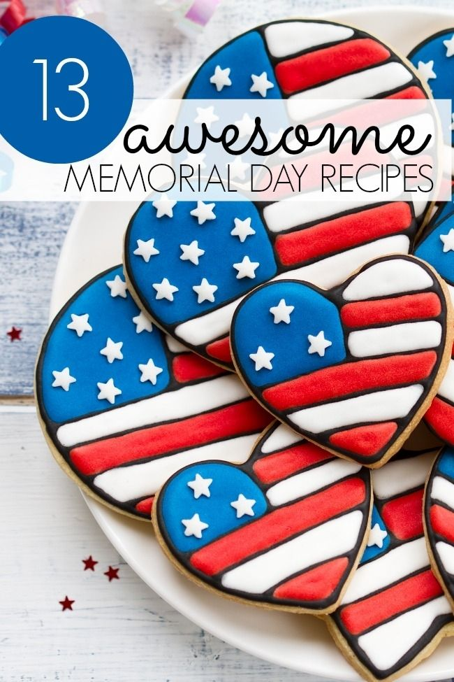 Memorial Day Recipe Ideas www.spaceshipsandlaserbeams.com