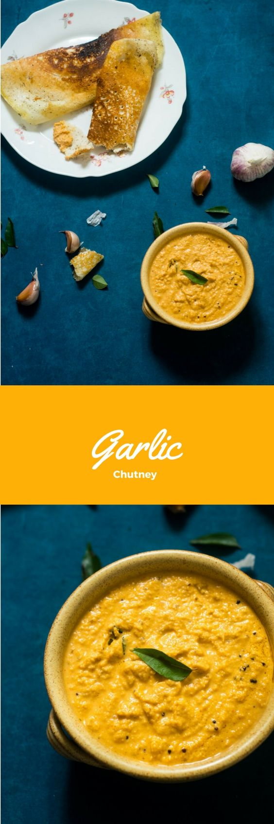 Garlic Chutney | South Indian Style Garlic Chutney Recipe - CookingWithSapana