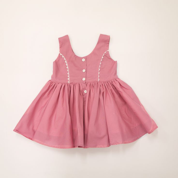 Taleah Whimsy Dress- an original design by Lacey Lane. Designed in Australia. Baby and children's Dress.