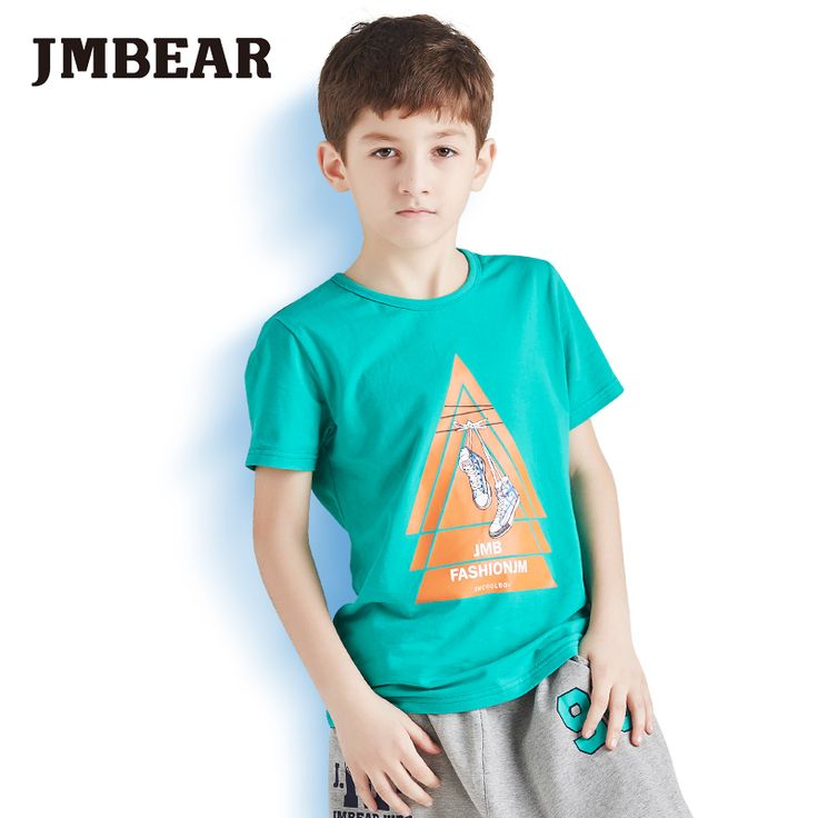 Find More T-Shirts Information about JMBear Brand boys T Shirts 2016 summer short sleeve cotton T Shirts cartoon Printed Tops Kids Clothing,High Quality t-shirts quality,China t-shirt promotional Suppliers, Cheap t-shirt heat transfer paper from JMBEAR Specialty store on Aliexpress.com