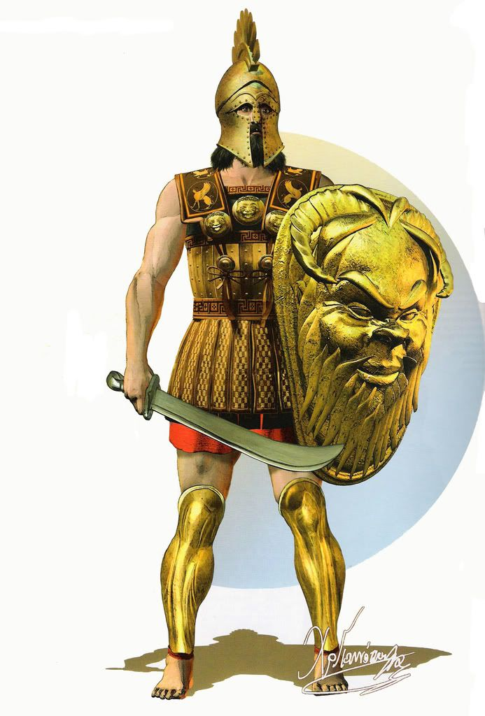 Hoplite of 6th century Cyprus Christos Giannopoulos