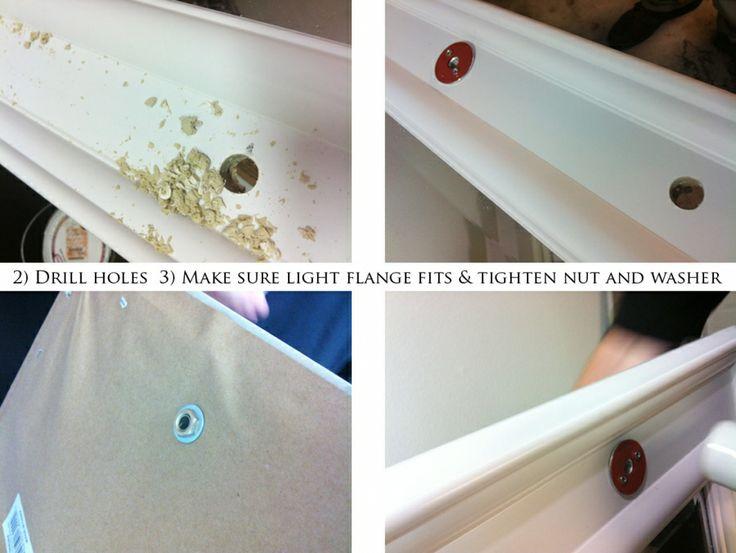 8 best images about diy lighted vanity mirror on pinterest diy makeup vanity homemade and. Black Bedroom Furniture Sets. Home Design Ideas