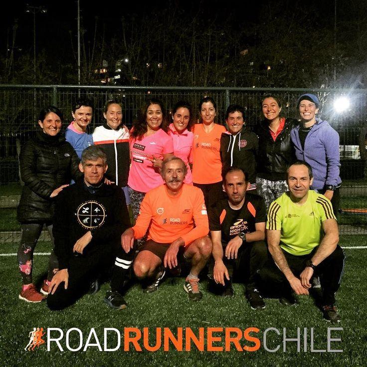 Gran entrenamiento y ahora a apoyar a la selección Chilena de fútbol #VamosChile