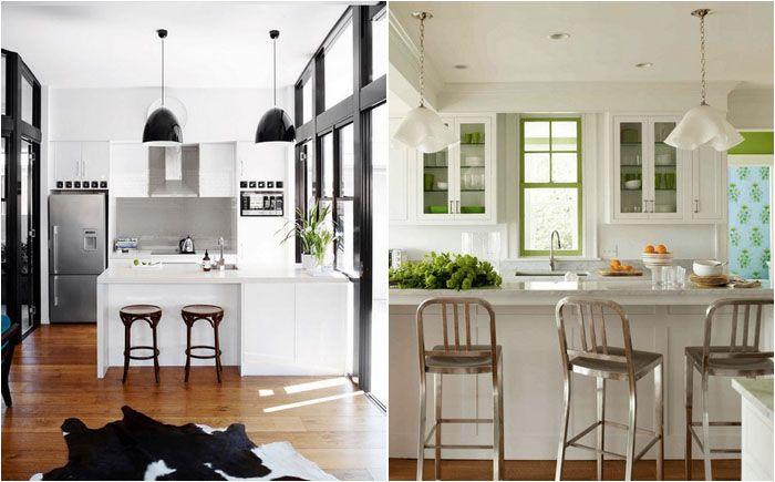 Белоснежная кухня: 40 потрясающих белых интерьеров, в которых совсем не скучно