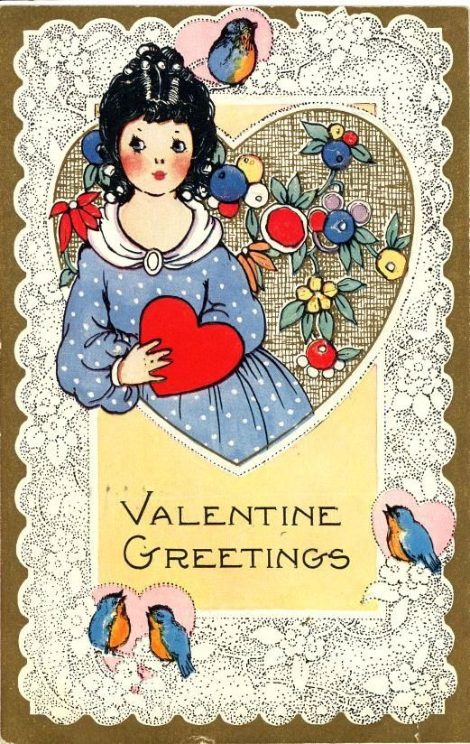 Old Fashioned Valentine Cards Special Valentine