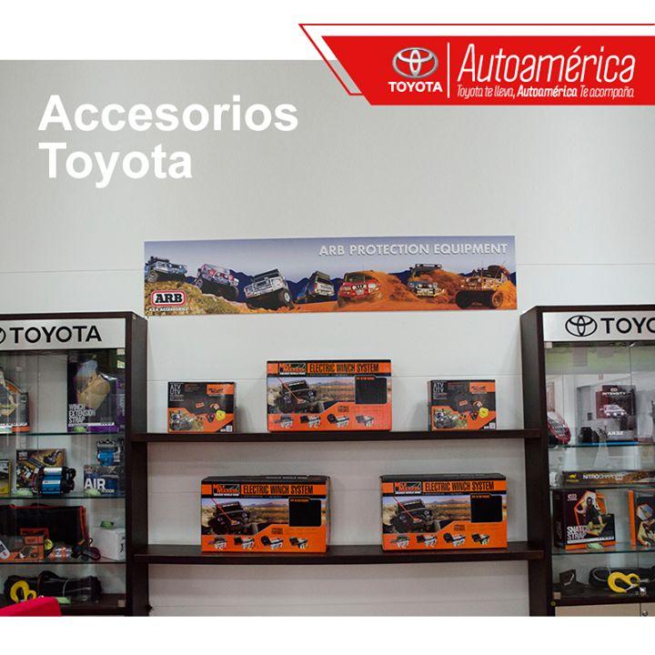 Los #AccesoriosToyota que necesita tu vehículo están en #Autoamérica. Cuenta con la calidad y el respaldo de una marca legítima.