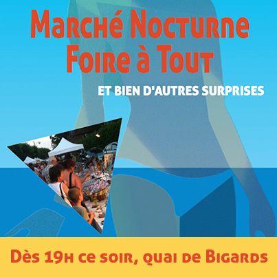 Marché nocturne & Foire à tout nocturne ce soir sur #Louviers Plage. Viendrez-vous ?