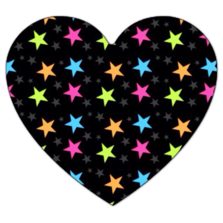 Heart with stars