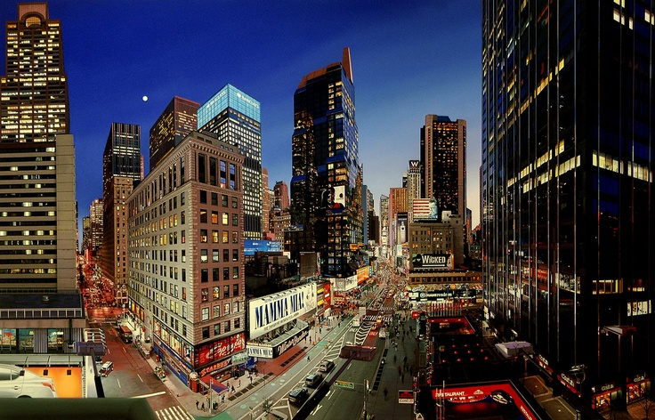 The City That Never Sleeps by Bertrand Meniel