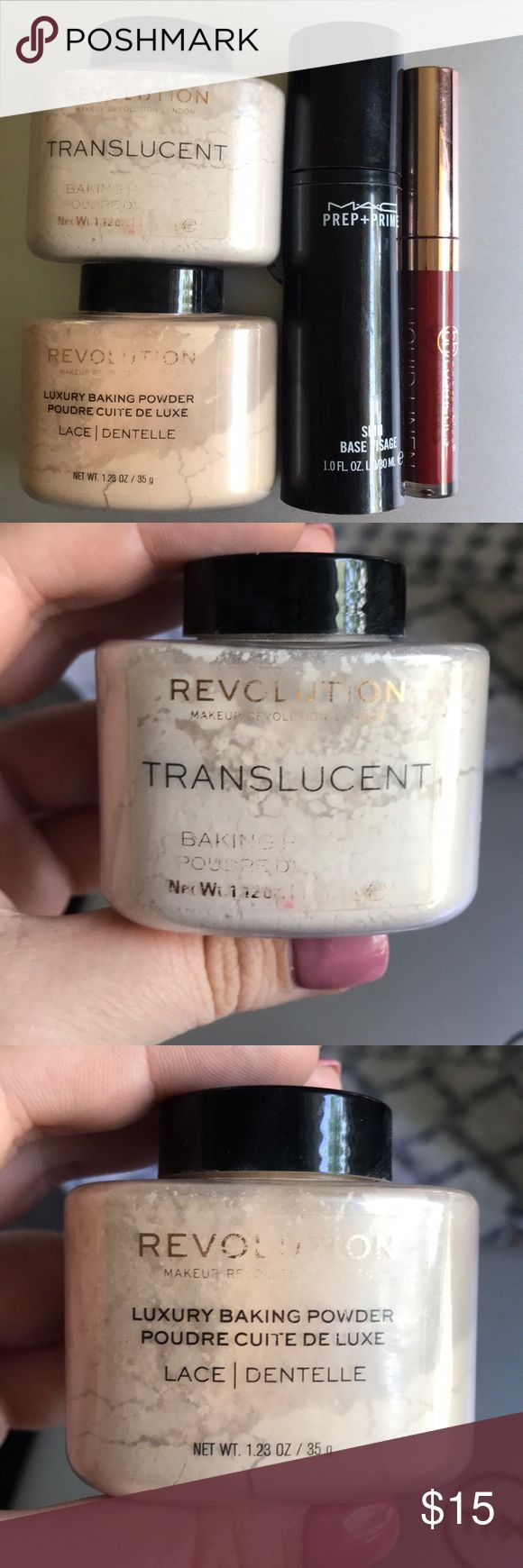 Makeup Revolution Ghost Baking Powder Review Mae Polzine