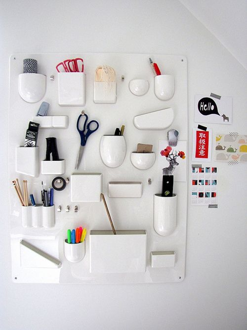 DIY organization... Design sponge