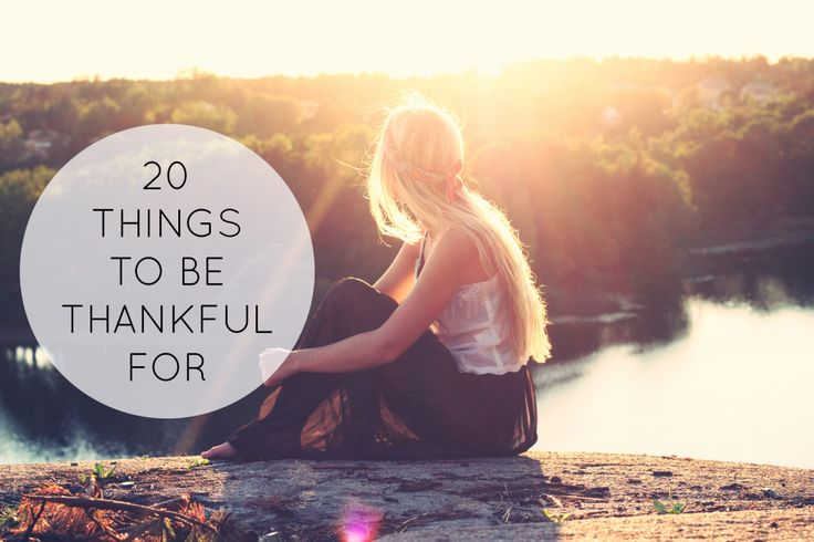There is always something to be thankful for, even on our worst days. Sometimes we need a reminder.