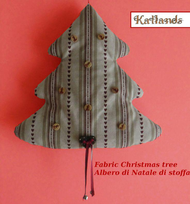 Albero di Natale di stoffa - Fabric Christmas tree