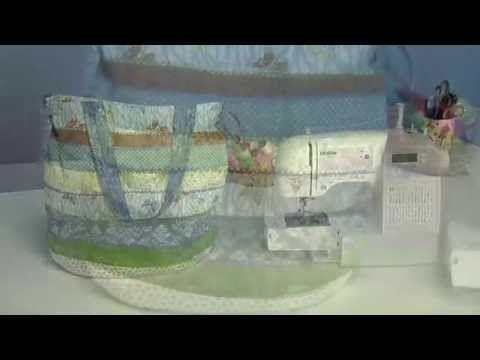 Máquina de Costura Brother SQ9000 - PROJETO: Bolsa Listrada - YouTube