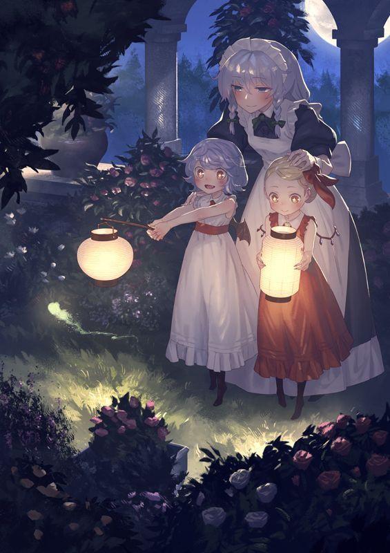 レミリア フランドール 咲夜 イラスト かわいいアニメの写真 東方 かわいい