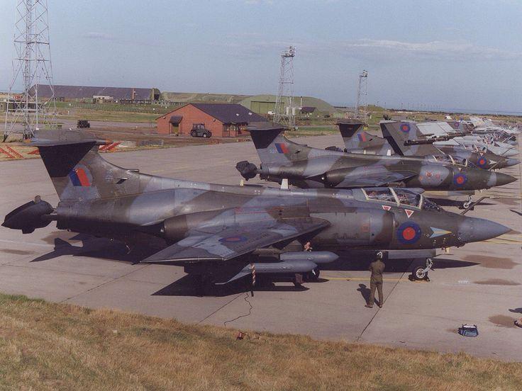 Blackburn Buccaneer. RAF (1980s)